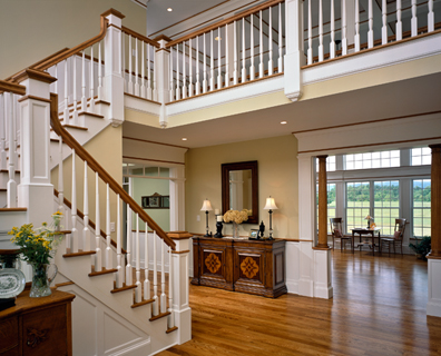 Superb Fine Wood Stairs And Handrails Are Truly A Work Of Art. They Are Built By  Craftsmen Of The Highest Order. Like Those Who Built The Magnificent  Stairways Of ...